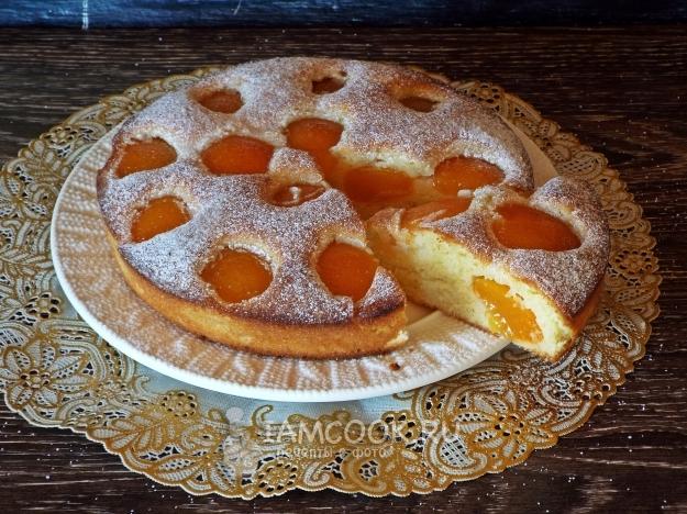 Три рецепта пирога с абрикос…