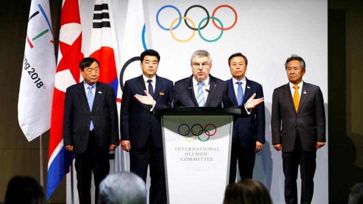 И вновь на по сценарию МОК: в Южной Корее вновь «пошли на прорыв» - грянул гимн России