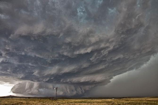 Коллекция фотографий облаков необычной формы