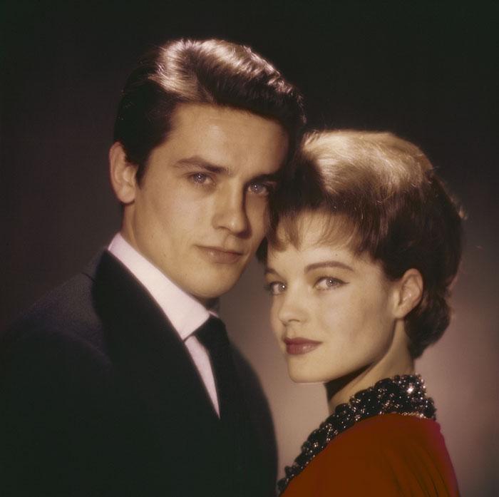 Ален Делон (Alain Delon) и Роми Шнайдер (Romy Schneider) в фотосессии Уолтера Карона (Walter Carone) (1961), фото 6