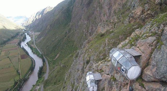 Отель Natura Vive Skylodge Adventure Suite находится в Перу
