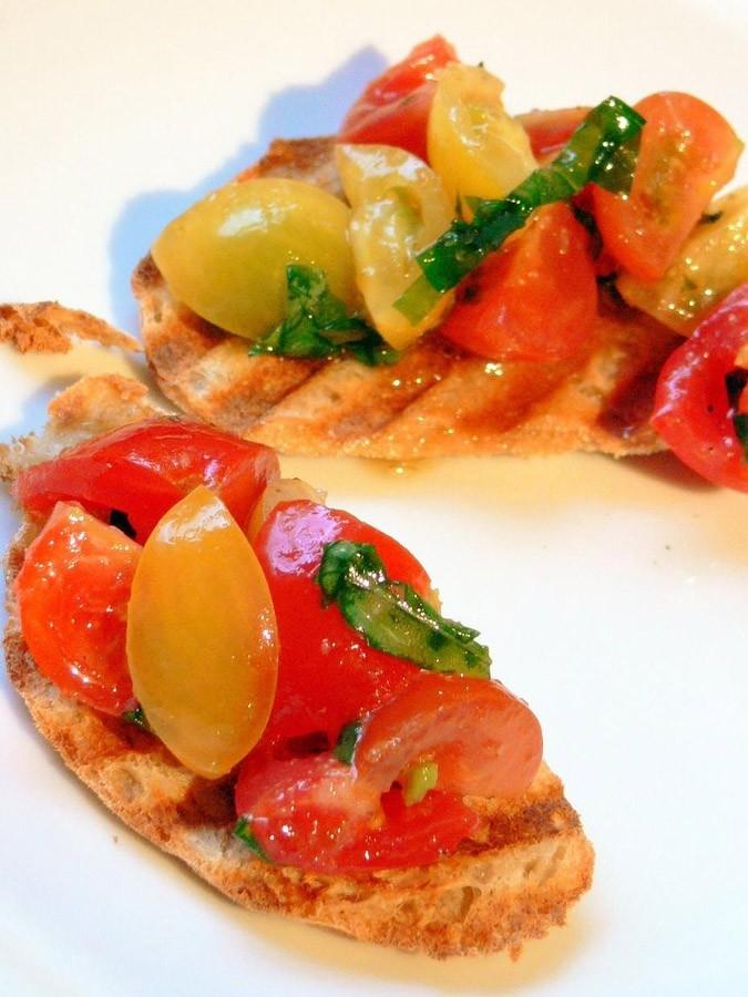 Брускетта  Блюда итальянской кухни блюда Италии