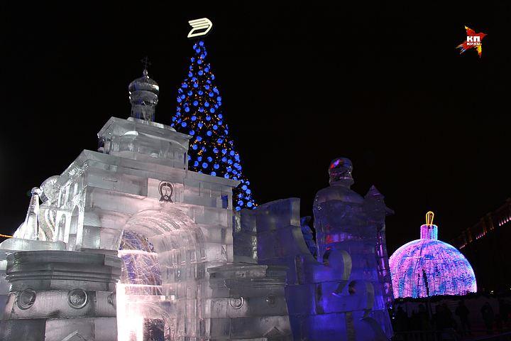 Поклонная гора новый год мероприятия