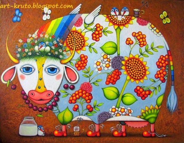 художник Алёна Крутоголова картины - 04