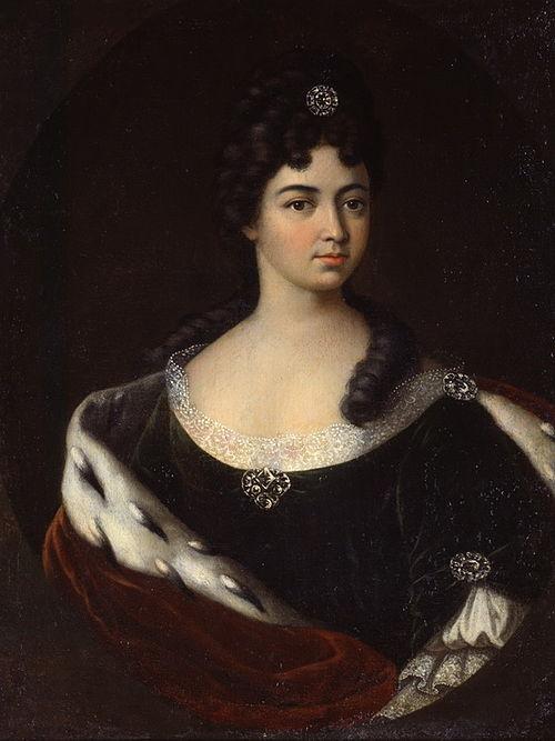 Предполагаемый портрет Марии Кантемир. Худ.: И.Н. Никитин, 1710-е - 1720-е гг.