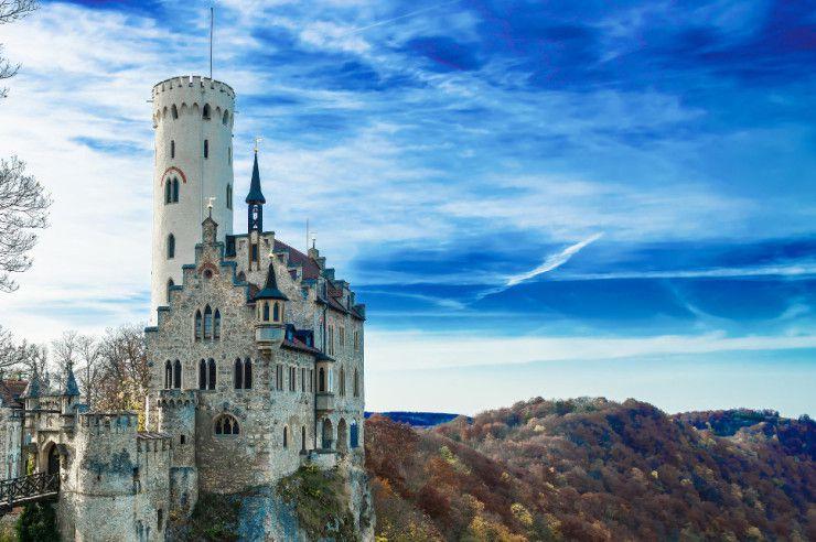 Красивейшие замки и дворцы в мире в мире, замки, дворцы