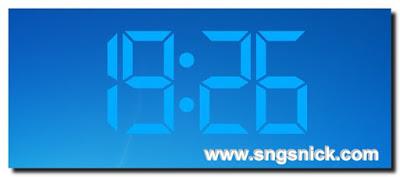 Digital Clock 4.5.7.1069 - говорящие цифровые часы на рабочий стол для Windows, Linux, Mac OS X
