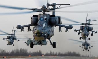 Российские ССО и Ми-28н уничтожают боевиков в Восточной Гуте