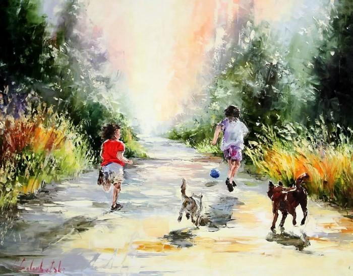 пейзажи и натюрморты Gleb Goloubetski - 04
