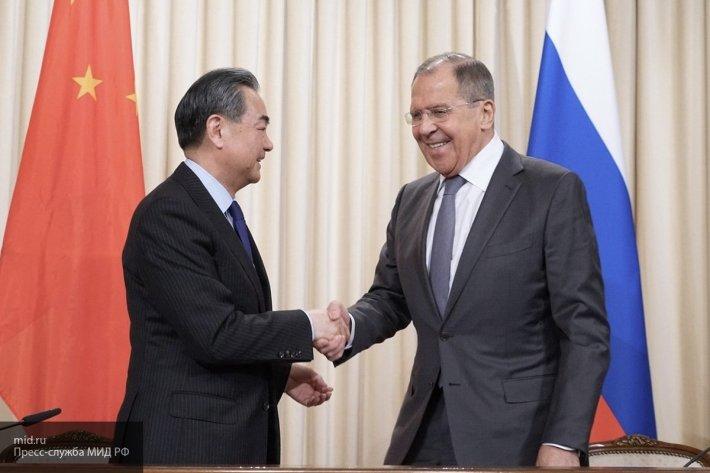 Глава МИД РФ встретится с председателем КНР в рамках визита в Китай 23-24 апреля