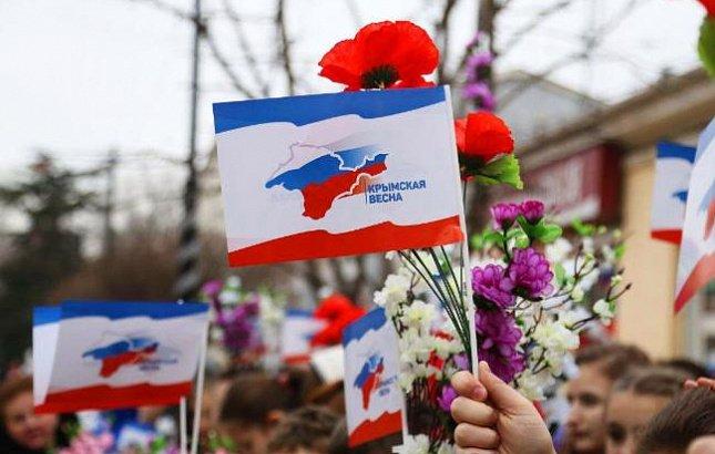 «Навсегда в нашем сердце»: Россия празднует пятилетие воссоединения с Крымом