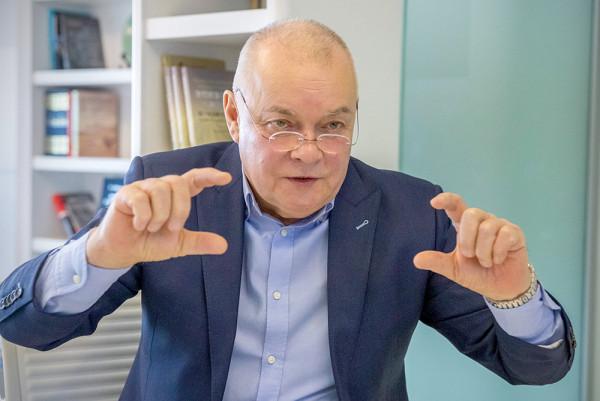 Журналист Дмитрий Киселёв ст…