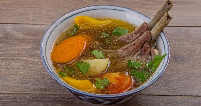 Шурпа из баранины - вкуснейшее ароматное блюдо узбекской кухни