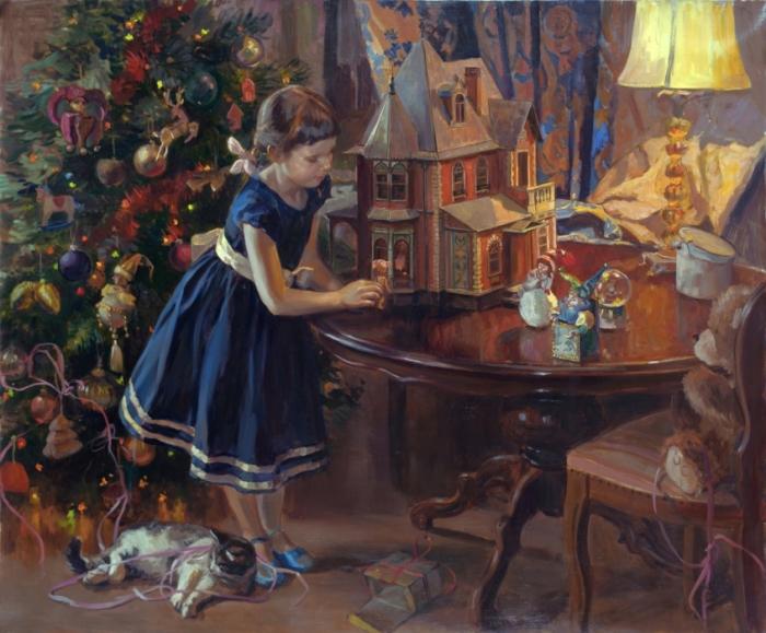 Кукольный домик. Автор: Молодых Мария.