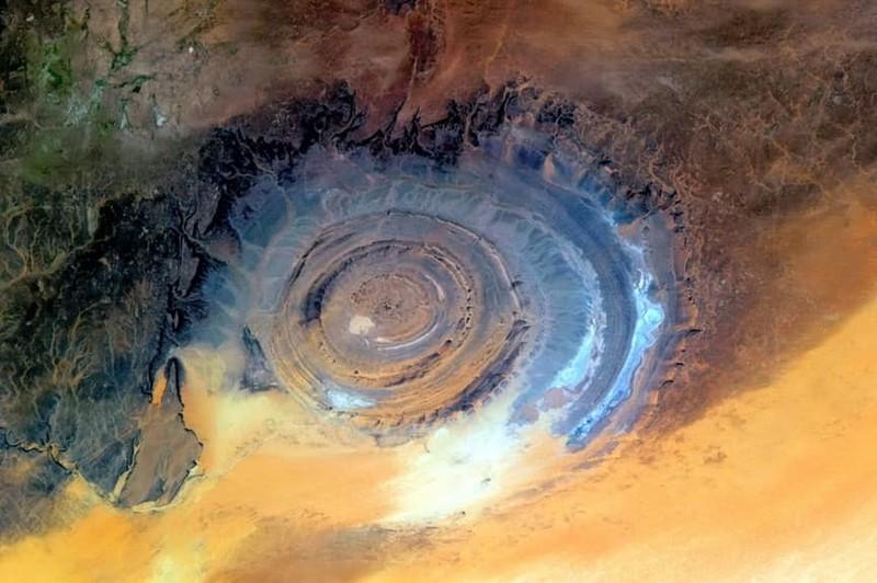 10. Ришат, мавританская часть пустыни Сахара загадка, земля, природа, явление