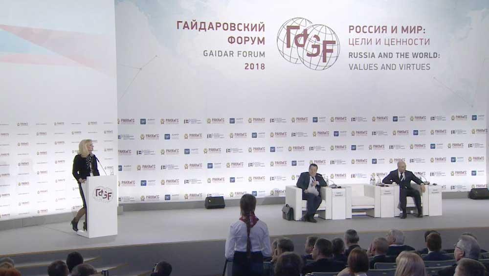 Владимир Путин: Недостаточно взять лопату, сам всё поле всё равно не перекопаешь
