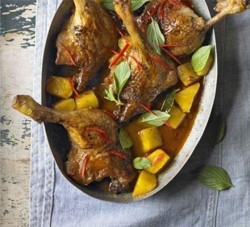 Картошка в духовке с курицей и ананасами: рецепты приготовления
