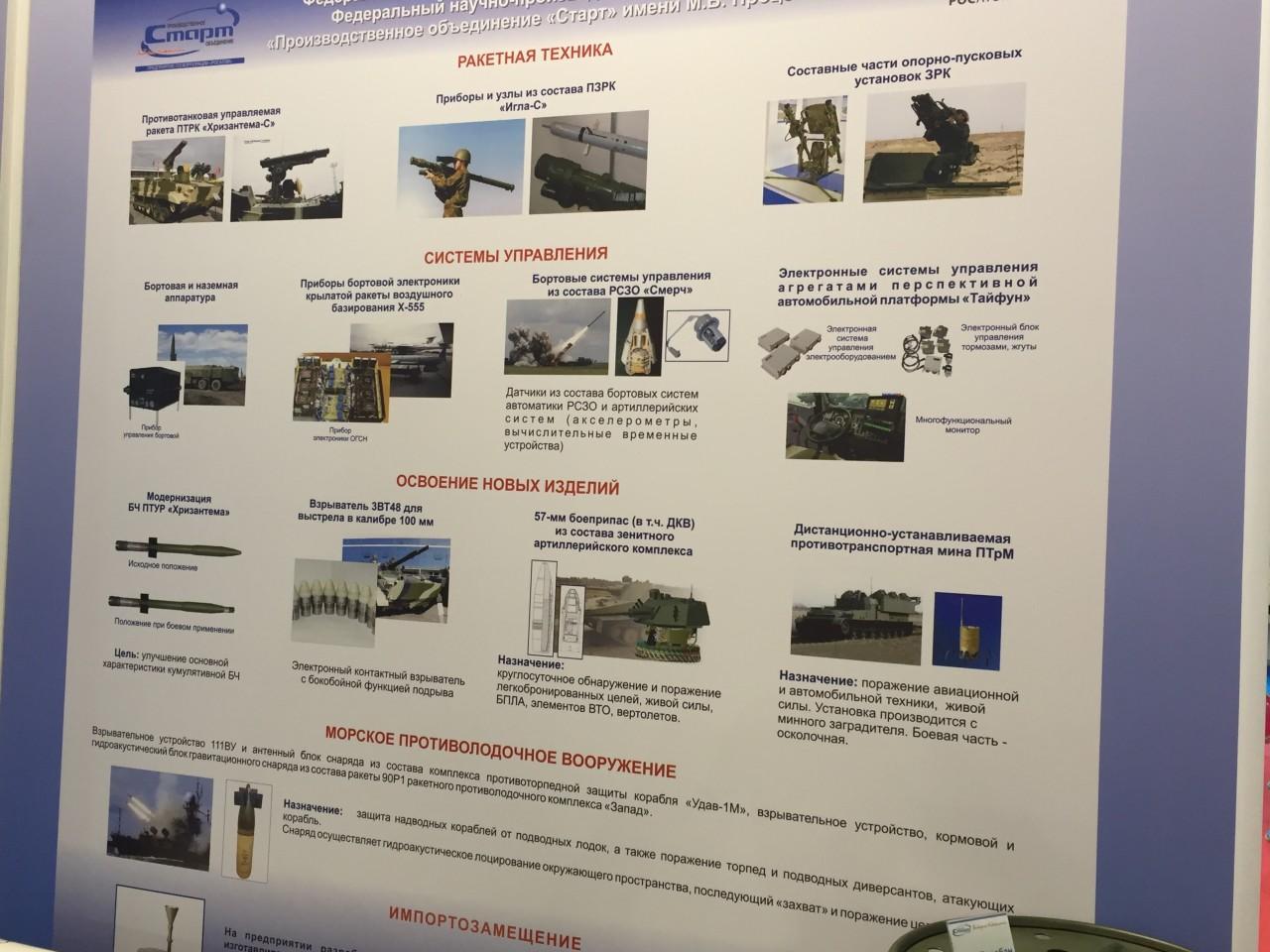 Некоторые результаты импортозамещения украинской продукции в отечественной военной технике