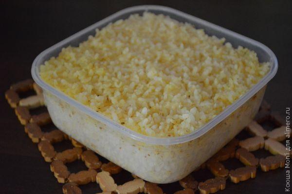 рис на пару