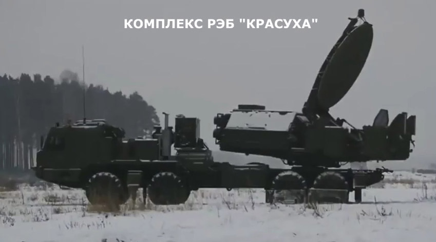 Уникальные кадры: Российский комплекс РЭБ сбивает ракеты в полёте