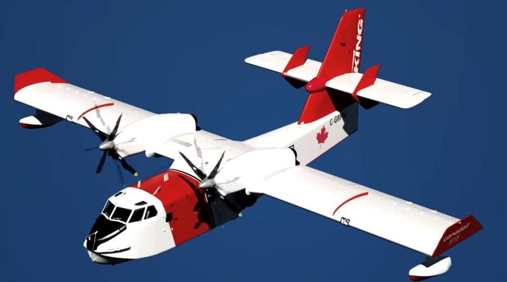 Самолет-амфибия Viking Air CL-515