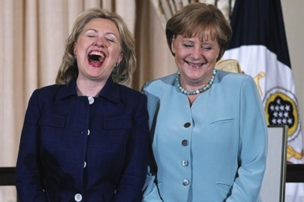 Украинцев теперь в Германии считают просто идиотами.