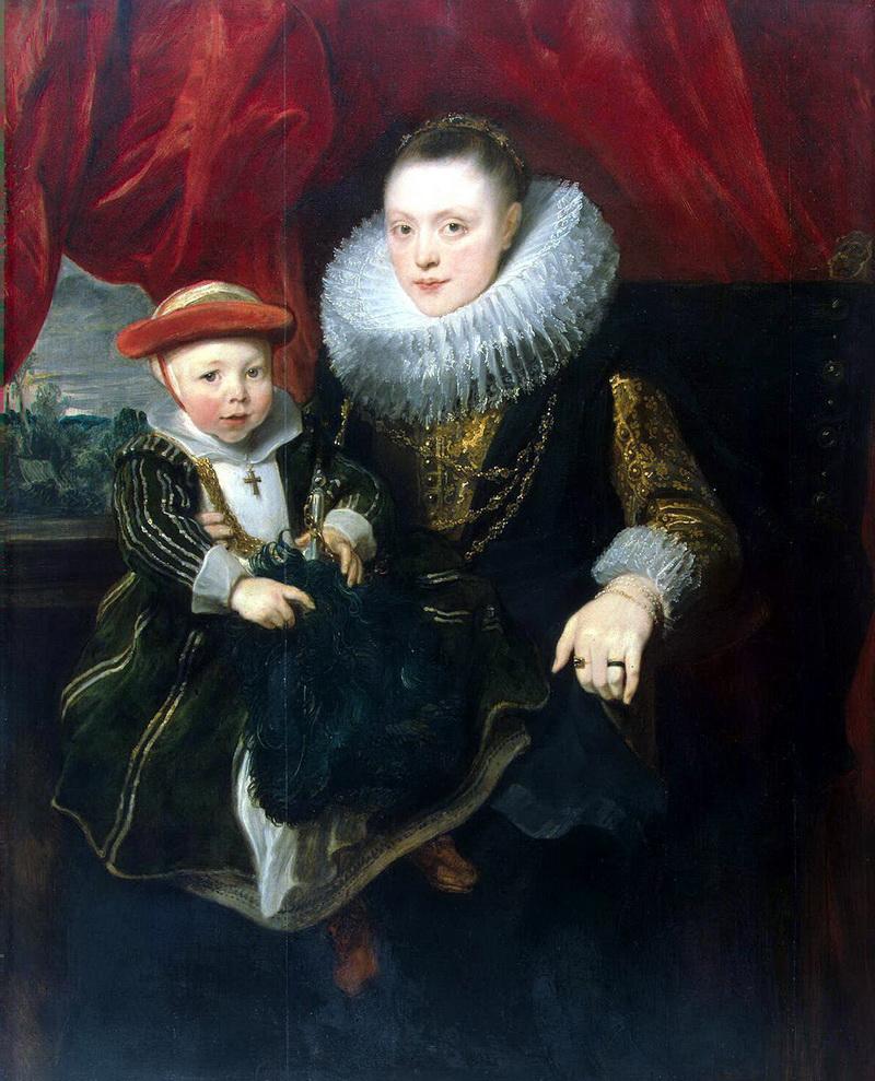 Антонис ван дейк портрет молодой