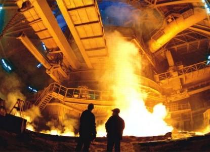 промышленность сталь