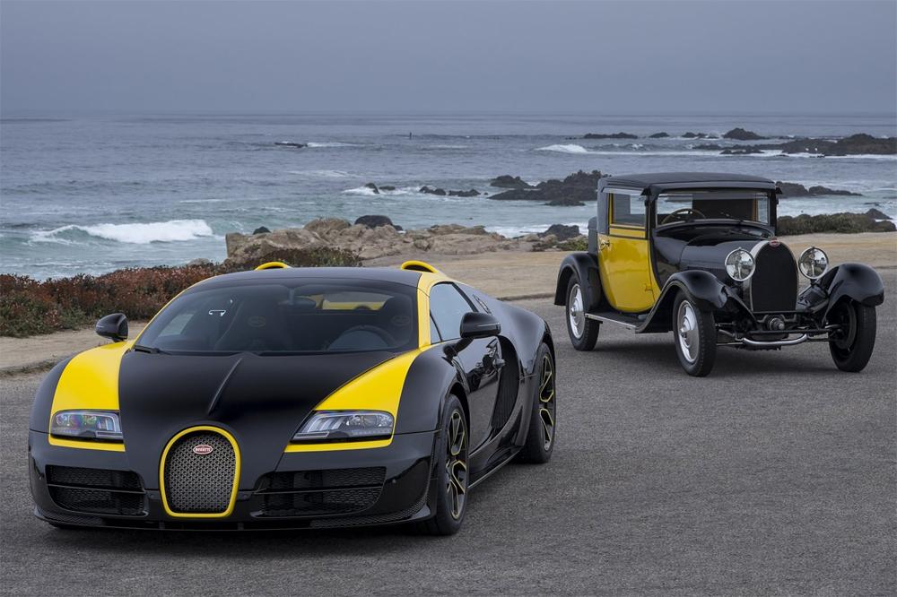 Bugatti создала еще одну уникальную версию Veyron