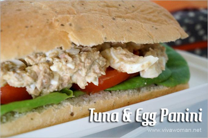 Tuna Egg Panini Lunchbox Idea Beauty Lunchbox Ideas: 5 Easy Sandwich Recipes