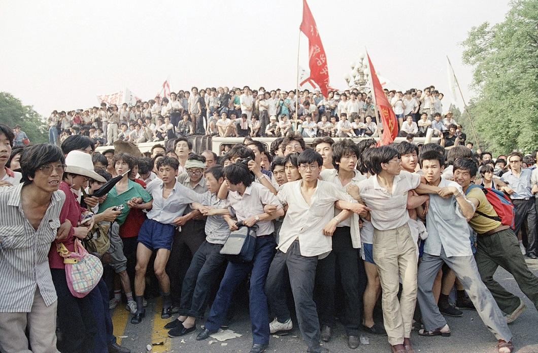 Tiananmen Square 18 Расстрел демонстрантов на площади Тяньаньмэнь 25 лет назад