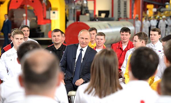 Путин: Россия ведет работу по импортозамещению потому, что это выгоднее для страны