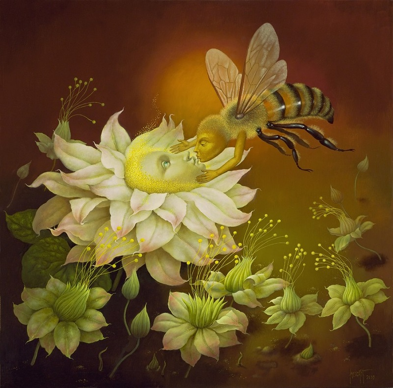 Великолепные цветы от испанского художника Jose Escofet