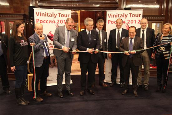Выставка Vinitaly Россия 2013