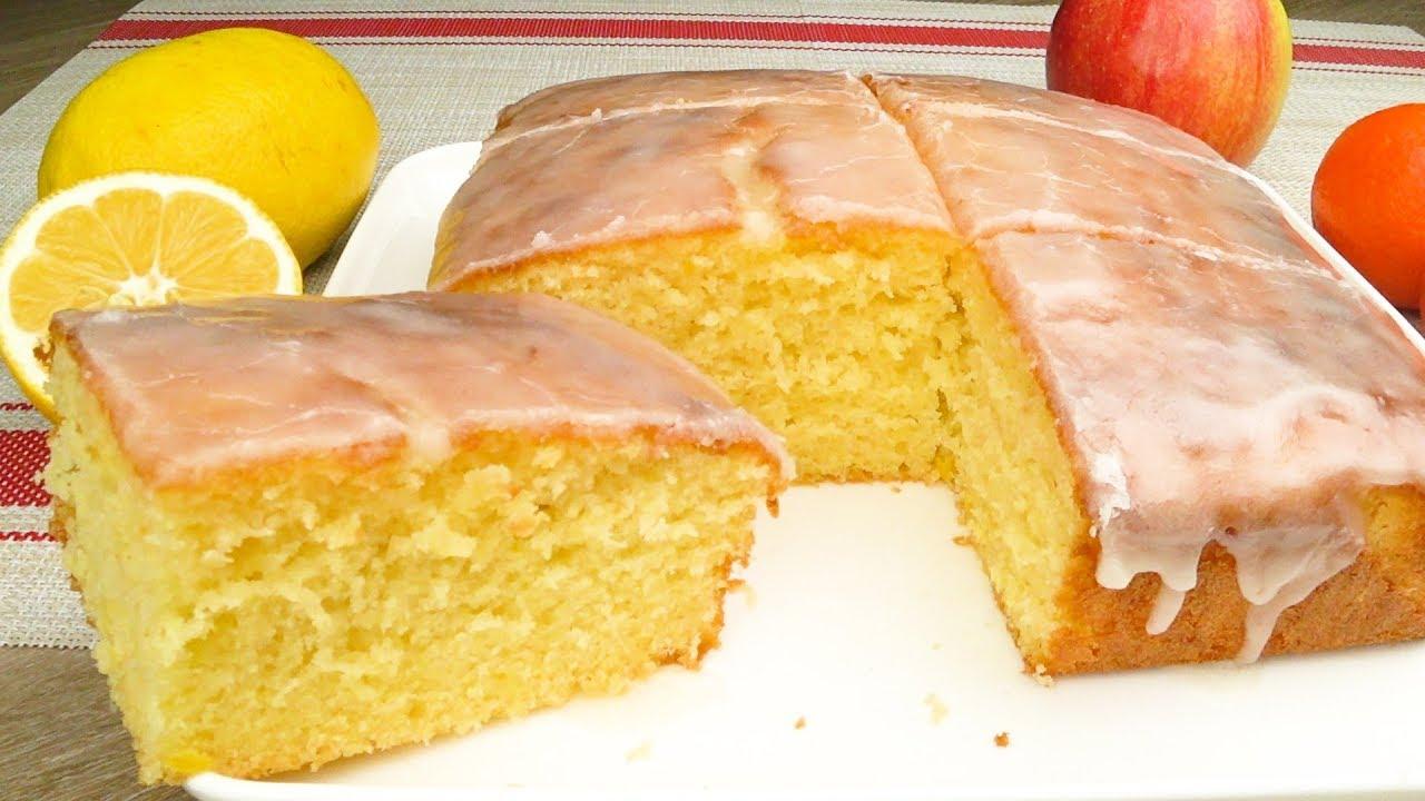 Домашний лимонный пирог: невозможно вкусный