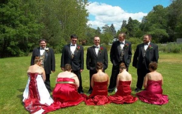 На свадьбе не гуляли?