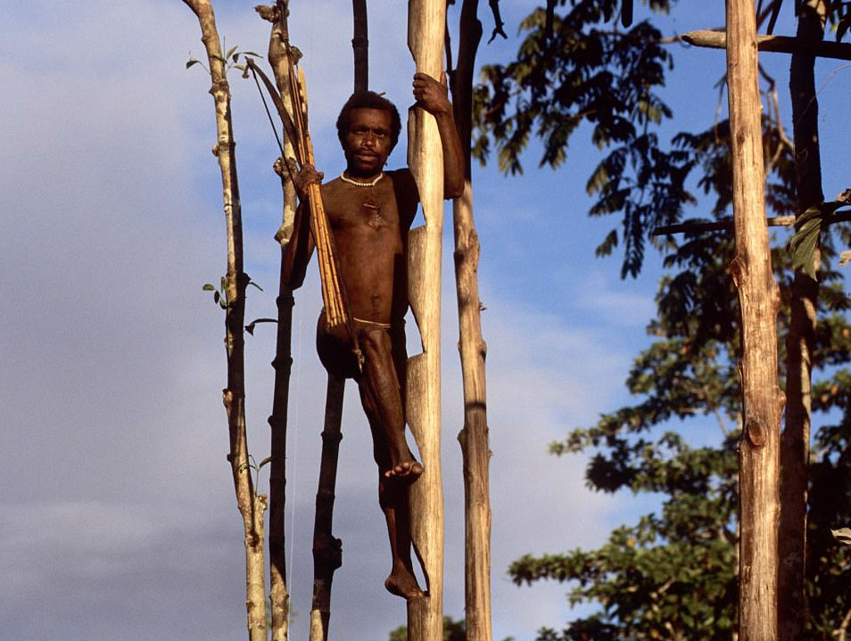 Короваи — загадочное племя людоедов, недавно узнавшее о цивилизации