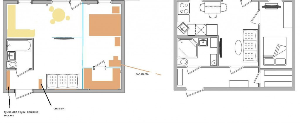 Хрущевка планировка 2 комнатная фото