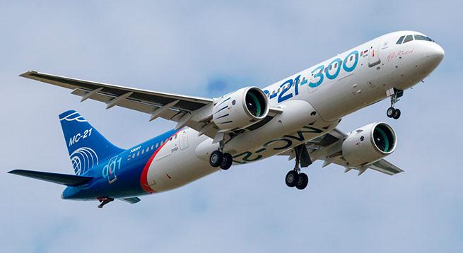 Самолет МС-21 совершил второй полет