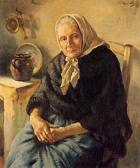Деревенские женщины. Помню нашла фото молодой свекрови и обомлела — редкая красавица была