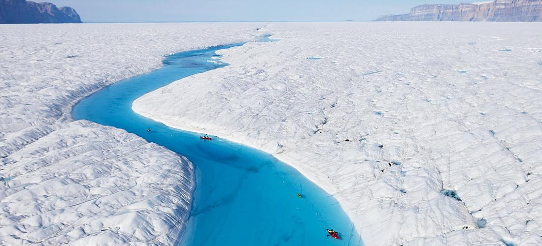 Фото Синяя река. Ледяные чудеса природы. Фото с сайта NewPix.ru