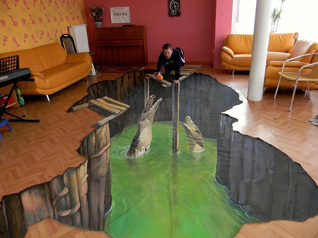 3d 11 Уличные 3D рисунки Николая Арндта