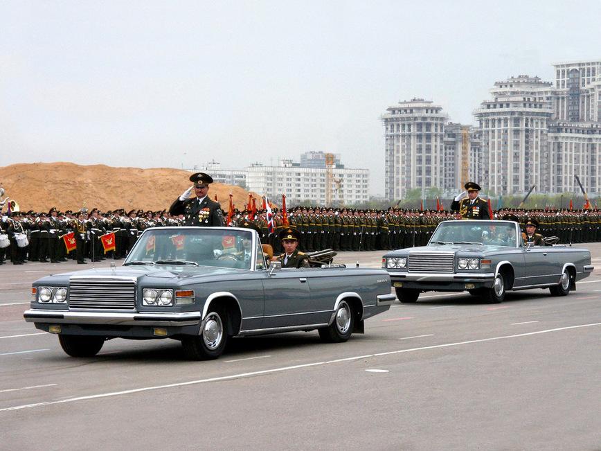 Парадный фаэтон ЗИЛ-41044 (ЗИЛ-115В) — самый главный автомобиль страны