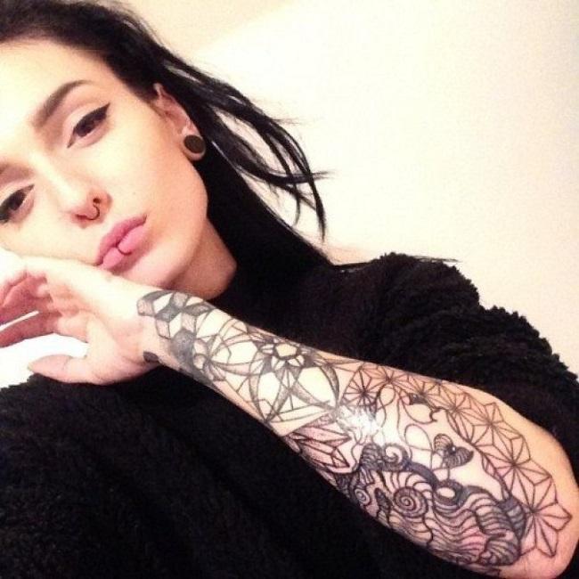 27 безумных татуировок на теле привлекательных девушек  девушки, тату