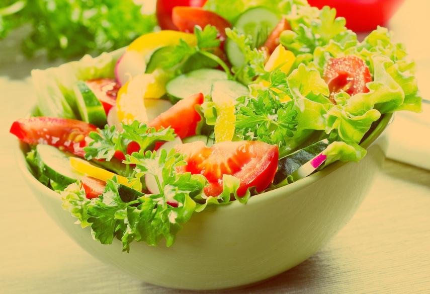 Салаты из свежих овощей - лидеры всех самых полезных блюд