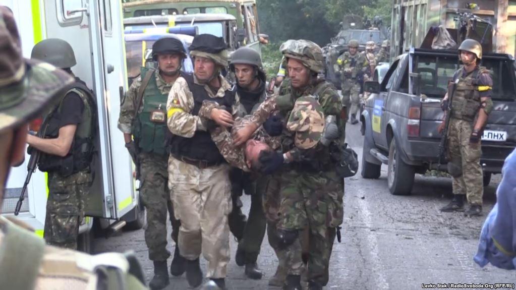 Потери украинской армии уже сопоставимы с четырьмя «Иловайскими котлами»