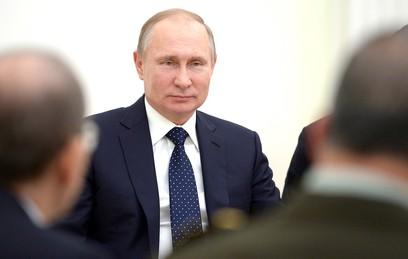Путин подписал указ о развитии России до 2024 года