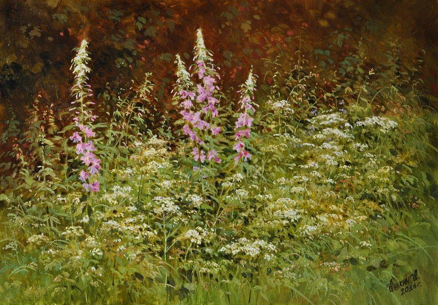"""""""Как здесь свежо...""""  милые сердцу уголки родной природы на картинах Алексея Аникина"""