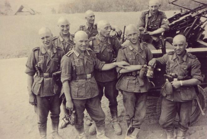 Немецкий штрафбат: вот как воевали плохие солдаты Вермахта