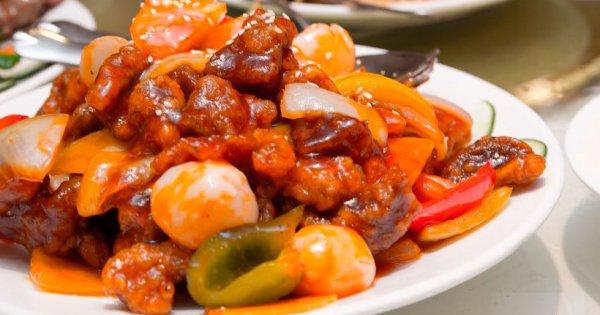 Курица в кисло-сладком соусе по-китайски 101 кКал на 100 гр